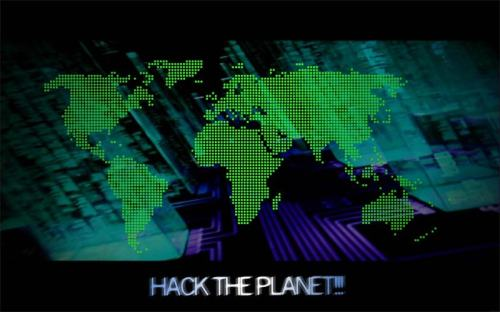 hack-the-planet